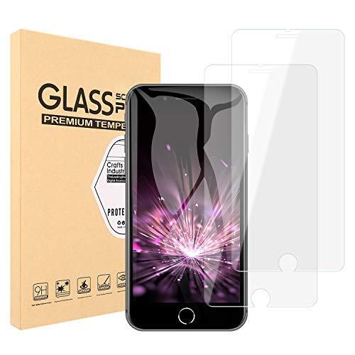 レンチ敵意ぬいぐるみ【2枚セット】Maxtango iPhone8/7/6 ガラスフイルム 強化ガラス ラウンドエッジ加工/業界最高硬度9H/高透過率/3D Touch対応/自動吸着/気泡ゼロ アイフォン8/7/6 ガラスフィルム 強化ガラス 液晶保護フィル 全面フルカバー 4.7インチ対応 (透明)0.3mm