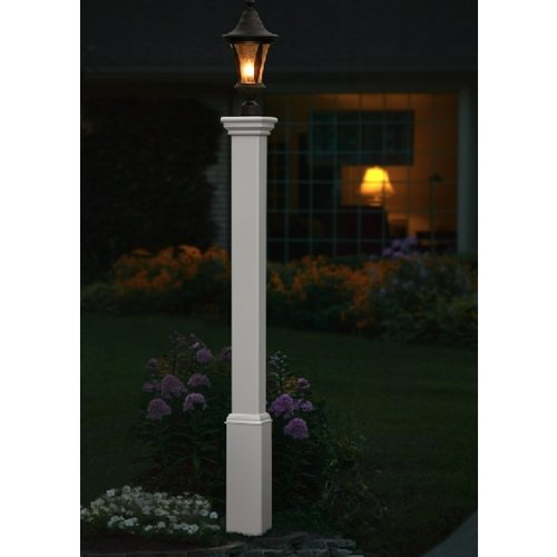 Madison x5 Vinyl Lamp Post product image
