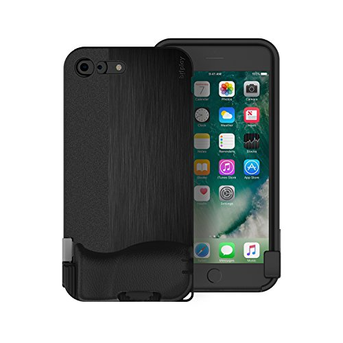 bitplay SNAP! 8 - Camera Case for iPhone 8 Plus / 7 Plus in Black (Lenses Not Included) …