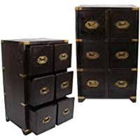 British Campaign- Military Chest of Drawers (6-Drawer) (MSRP:$275)