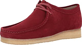 CLARKS Men's Wallabee Red Suede 11.5 D US (B01MT7URZV) | Amazon price tracker / tracking, Amazon price history charts, Amazon price watches, Amazon price drop alerts