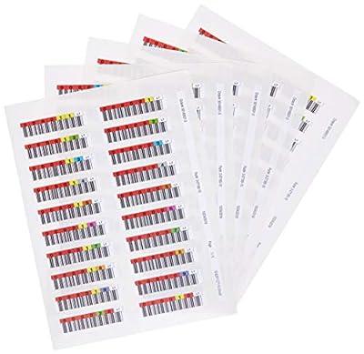 Quantum 100x Data Cartridge Bar Code Labels, Lto Ultrium 7LTO7Series 000001-000100Data Cartridge from Quantum
