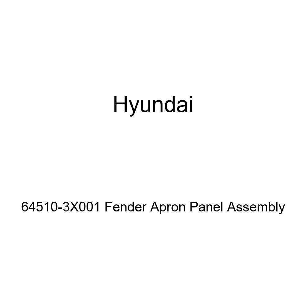 Genuine Hyundai 64510-3X001 Fender Apron Panel Assembly