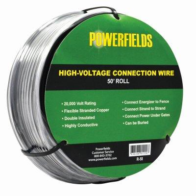 Powerfields R-58 50' HighVolt Conn Cable