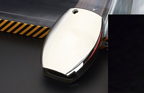 New Protective TPU Car Key Case 1PC for MERCEDES BENZ B-Klasse (W246) 2012-2018 B160 B180 B200 B220 B250 (Silver)