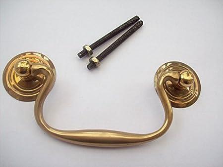 Antique Key Hole Cover Lock Door Vintage Handmade Customized Pull Knob Drawer