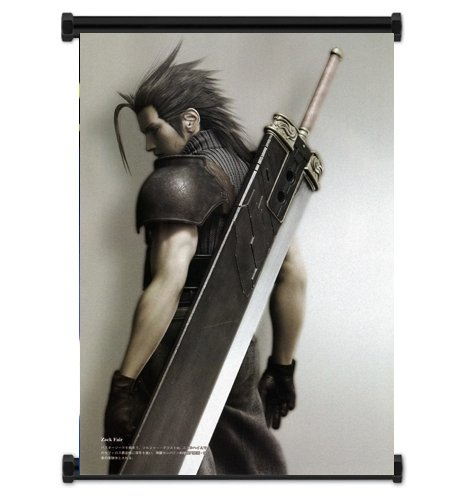 Final Fantasy VII Advent Children Zack Fabric Wall Scroll Po