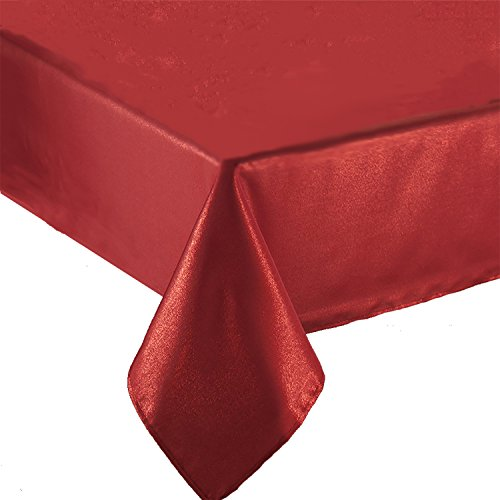- Benson Mills Elegance Mylar Metallic Tablecloth, 60