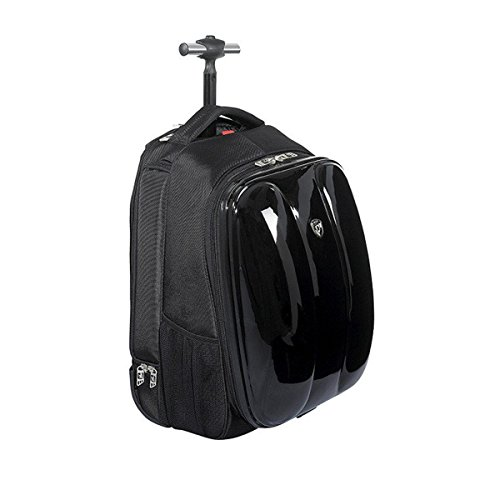 Heys Blazer Rolling Backpack, Black, One Size