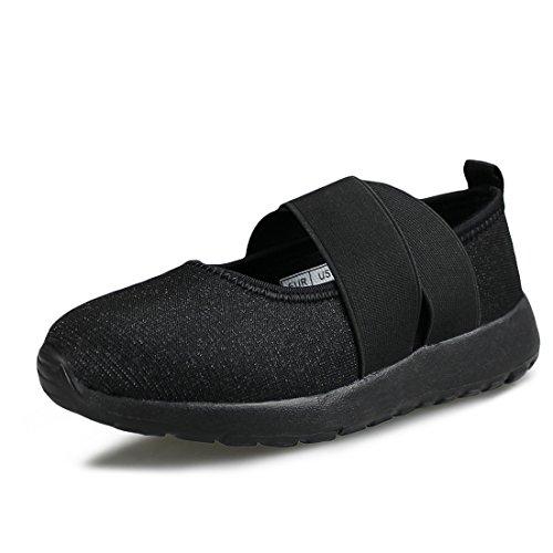 All Black Kids Sneakers - 8