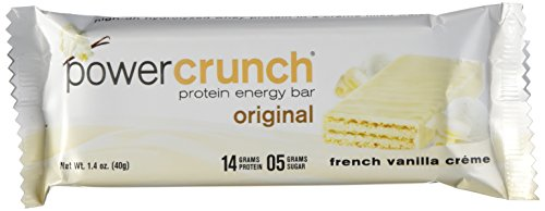 Power Crunch Bar, French Vanilla Cream, 1.4 Ounce, 12 Count