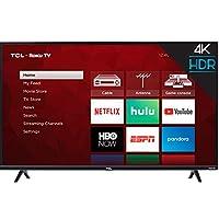 TCL inch 4-Series 4K Roku Smart UHD TV (55 in)
