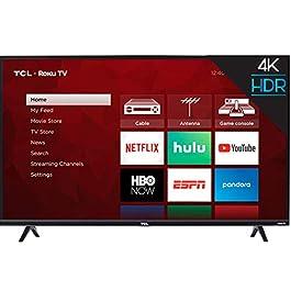 TCL 55″ 5-Series 4K UHD Dolby Vision HDR QLED ROKU Smart TV (535)