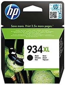 Comprar HP C2P23AE 934XL Cartucho de Tinta Original de alto rendimiento, 1 unidad, negro