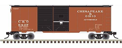 ainman 40' Double Door Box Car, Chesapeake & Ohio 6415 (40' Double Door Box Car)
