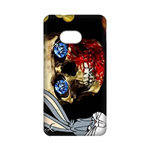 3D Print Looney Tunes role&Bugs Bunny Theme Case Cover for HTC ONE M7- Personalized Cell Phone Protective Hard case Shell