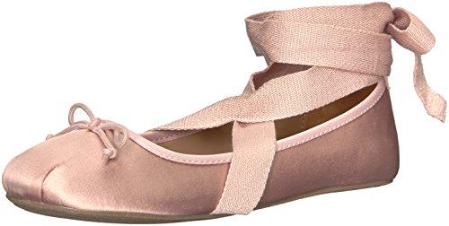 Topline Women's Vice Ballet Flat, Blush, 8 M US ()