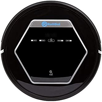 Rollibot Robot Vacuum Cleaner - Sweeps, Cleans, Mops - with Automatic Recharging and Auto-Detection