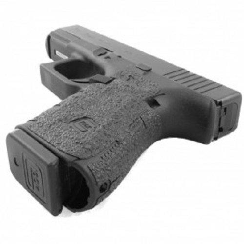 Talon Grip for Glock 19,23,25,32,38 -(Gen3, 2, or 1) Black Rubber - 104R W/ Free Sticker - Johnson Enterprises, LLC (Best Grip For Glock 19)