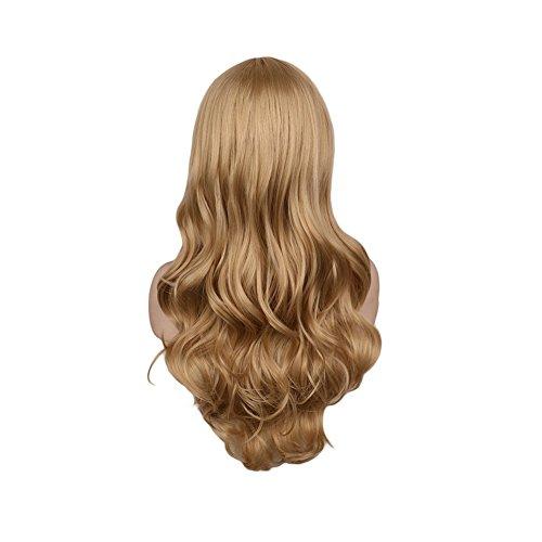 La gran ola de Lady peluca - pergamino dorado de disfraces con ropa diaria de rol: Amazon.es: Belleza