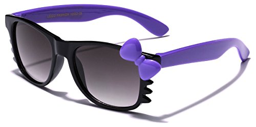 - Cute Hello Kitty Baby Toddler Sunglasses Age up to 4 years (Black - Purple, Smoke)
