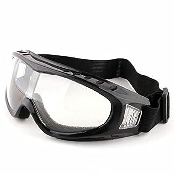 Sedeta/® UV-Schutz im Freien Gl/äser Motorradbrille Reiten Anti-Wind-Schutzbrillen Sand Sonnenbrille Spiegel Ski Brillen wei/ßer Rahmen