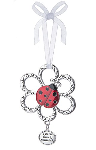 If You Can Dream It, You Can Do It Ladybug Ornament - By Ganz