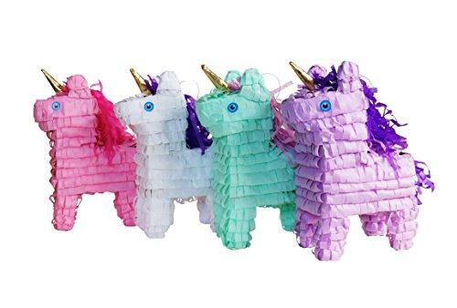 Mini Unicorn Pinata Pack (4 pcs.)