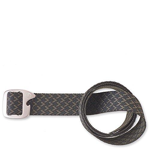 KAVU Adult Beber Belt, Black Chevron, Medium