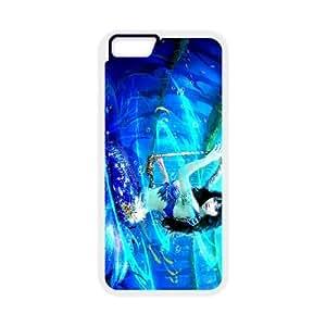 Anime Mermaid iPhone 6 Plus 5.5 Inch Cell Phone Case White Sgmr