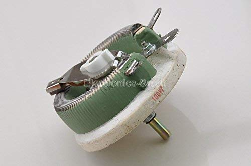 Rheostat Variable Resistor. Electronics-Salon 100W 20 OHM High Power Wirewound Potentiometer