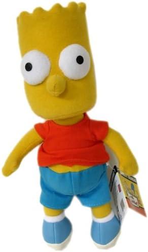 Amazon Com The Simpsons Bart Plush Doll 16in Bart Simpson