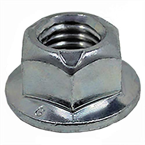 Stainless Steel Socket Head Cap Screw and Non-Serrated Flange Nuts - 100 pcs of Each Item - SHCS (M5x20mm,M6x45,M6x-18,M8x20,M8x35) + Non-Serr Flange Nuts (M6,M8,M10) + Flat Washer 7/16'' x 1'' (OD)