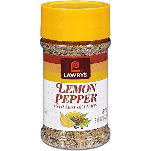 Lawrys, Lemon Pepper, 2.25-Ounce (12 Pack)