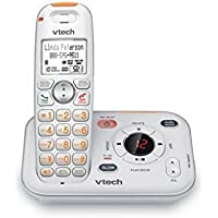 VTech SN6127 CareLine Cordless Answering System with Extra Large Buttons and Display
