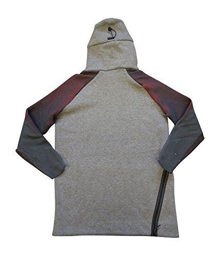 Nike Sportswear Mens Tech Fleece Hoodie 805655 Jacket (Medium, Navy 451)