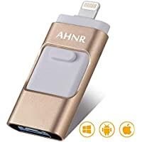 USB Flash Drives for iPhone 128GB [3-in-1] OTG Jump...