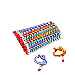 Haawooky 35 Pieces Flexible Soft Pencil ...