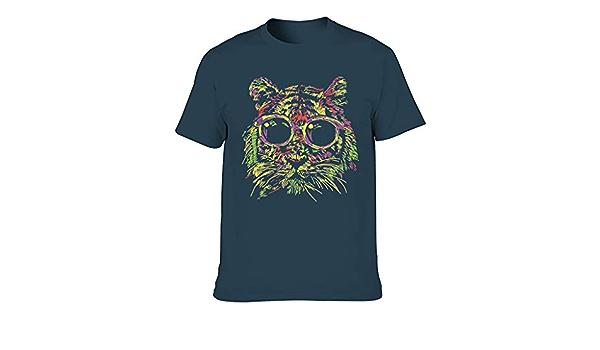 Colorida cara de tigre gafas de sol suave varios tipos ...