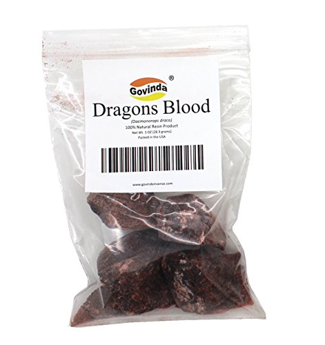 Govinda® - Dragon's Blood Natural Resin Incense - 1 Ounce
