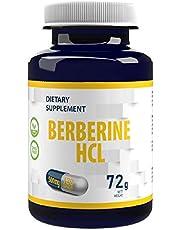 Berberin HCL 500mg 120 veganska kapslar, hög dosering