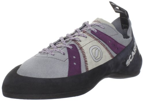 Scarpa Women's Helix Climbing Shoe - Pewter/Plum - 36.5 M...