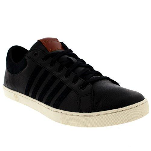 K-Swiss Adcourt '72 So M, Men's Low-Top Sneakers Black/Black/White