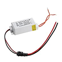 (NYY) 0.3A 4-7W DC 10-25V to AC 85-265V External Constant Current Power Supply Driver for LED Panel Lamp