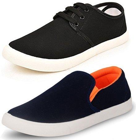 Buy Jabra Men's Sneaker (Set of 2 Pairs