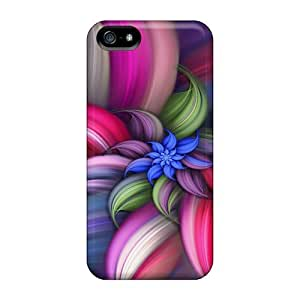 High-quality Durable Protection Cases For Iphone 5/5s(abstract Flower)
