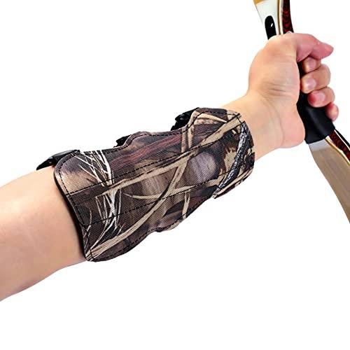 yiikii Archery Target with Archery Arm Guard (Thickness: 3.9inch)