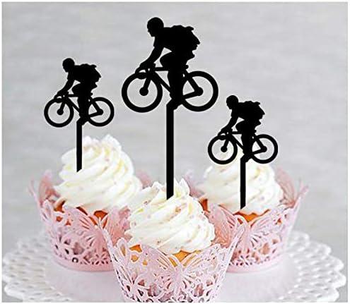 Decoración, decoración de cupcakes, aniversario, boda, cumpleaños ...
