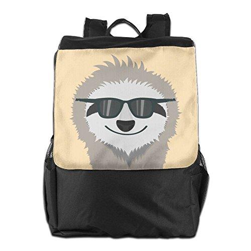 Sloth Sunglasses Outdoor Backpack Rucksack School - Sloth Sunglasses