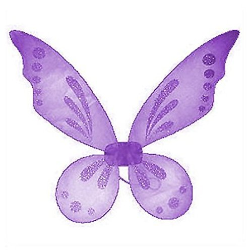 Lavender Pixie Fairy Wings Tinkerbell Princess Tutu Dress up Costume